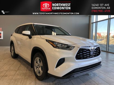 New 2020 Toyota Highlander LE All Wheel Drive 4 Door Sport Utility