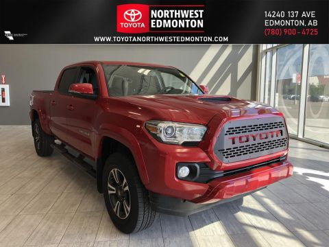 Pre-Owned 2017 Toyota Tacoma TRD Sport Four Wheel Drive 4 Door Pickup