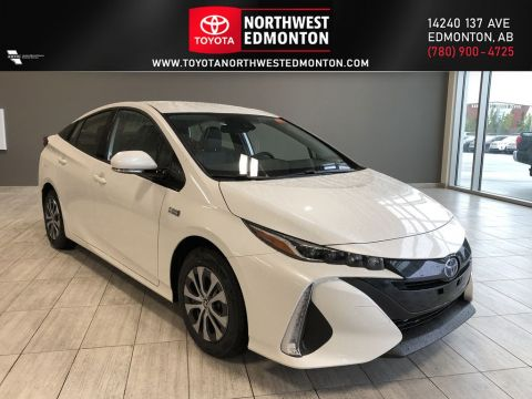 New 2020 Toyota Prius Prime Upgrade Front Wheel Drive 4 Door Car