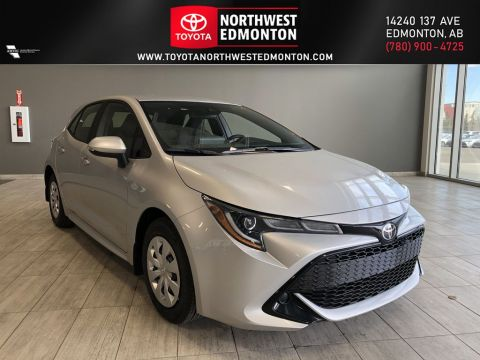 New 2020 Toyota Corolla Hatchback S CVT Front Wheel Drive 4 Door Car